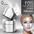 【9wishes】はがせるホイルパック/Foil Peel-off Mask Silver